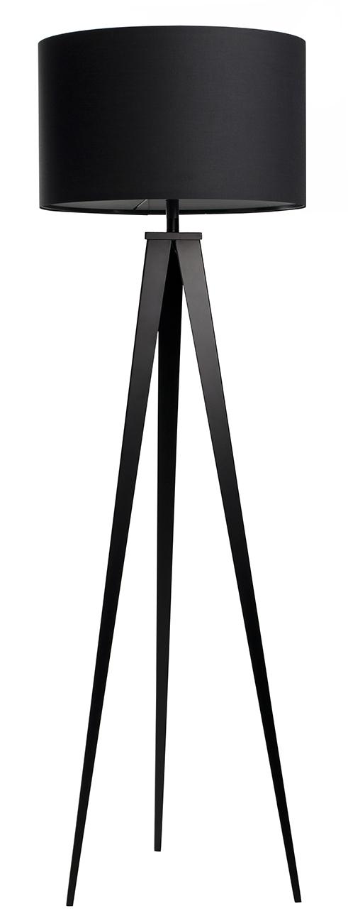 Zuiver Tripod vloerlamp-Zwart
