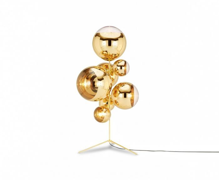 Tom Dixon Mirror Ball Tripod vloerlamp