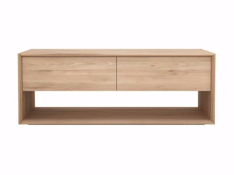 Ethnicraft Nordic TV Cupboard eiken tv-meubel-Small u20ac 939.00 bij ...
