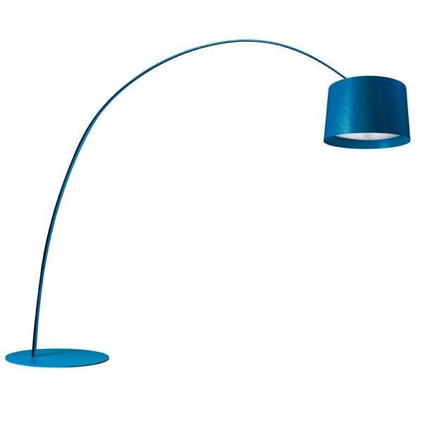 Foscarini Twice as Twiggy vloerlamp-Blauw