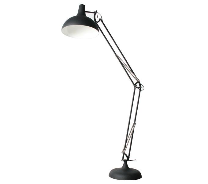 vanHarte Office XXL vloerlamp-Zwart