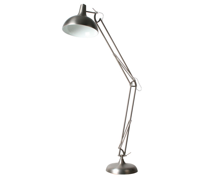 vanHarte Office XXL vloerlamp-Nikkel