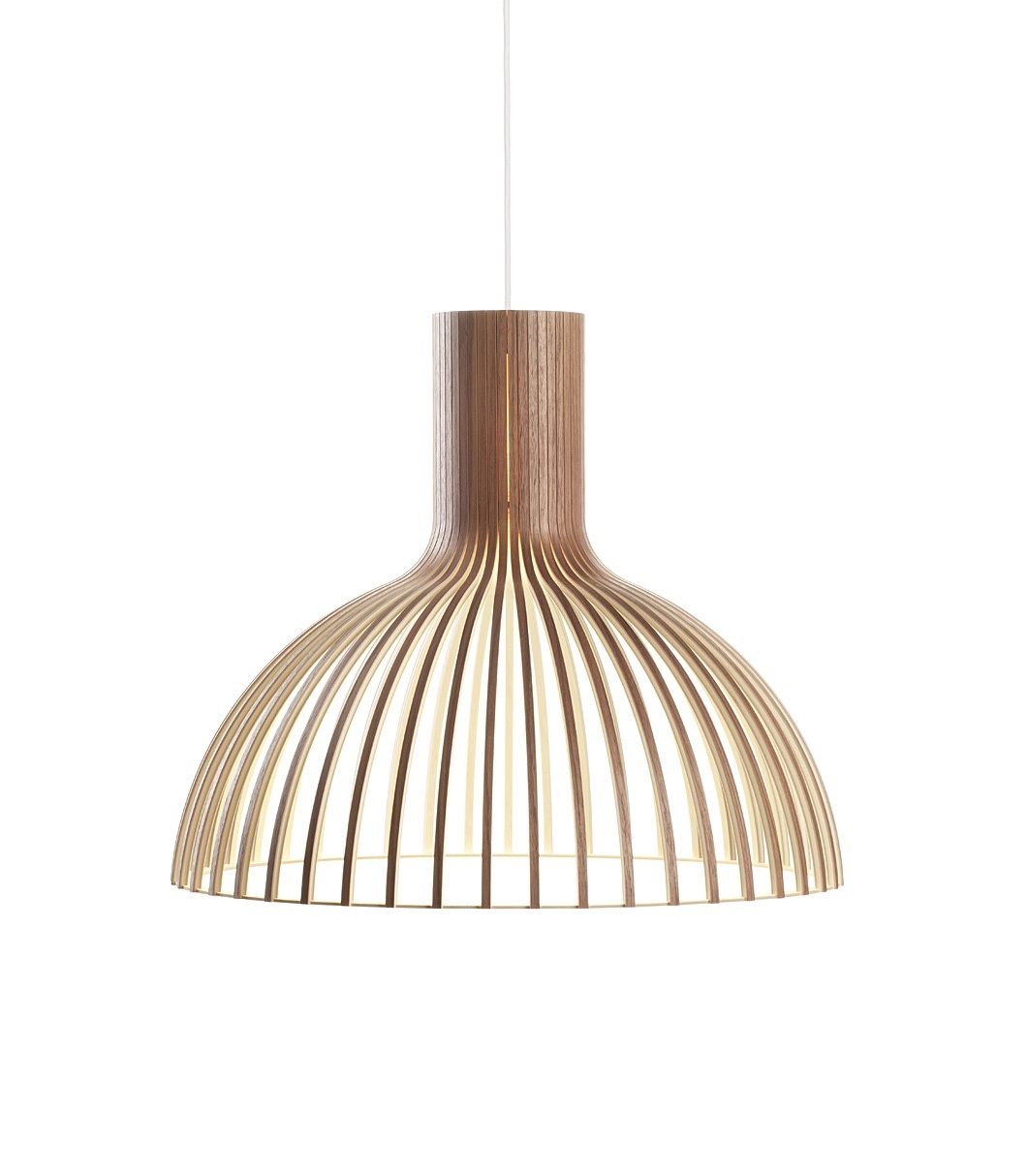 Secto Design Victo 4250 hanglamp-Walnoot