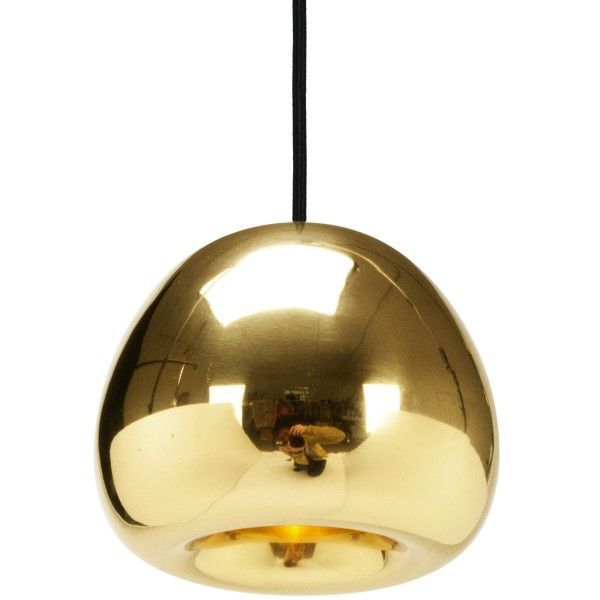 Tom Dixon Void Mini hanglamp-Messing