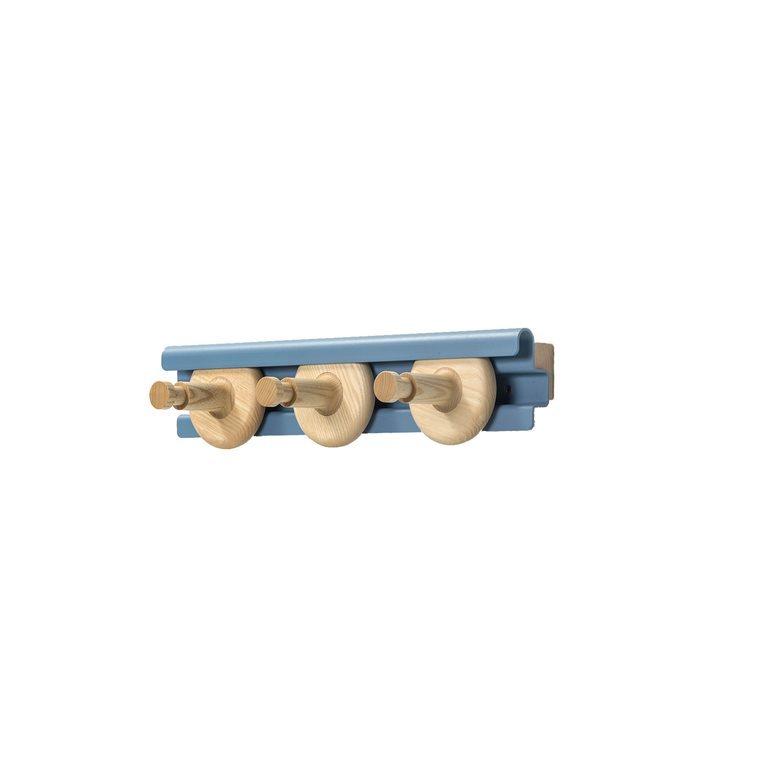 Van Esch Wheels kapstok-Blauw-50 cm