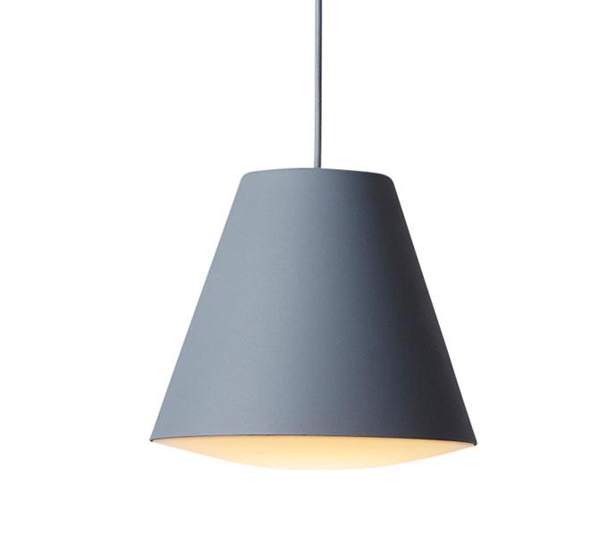 HAY Sinker hanglamp-Grijs-Small