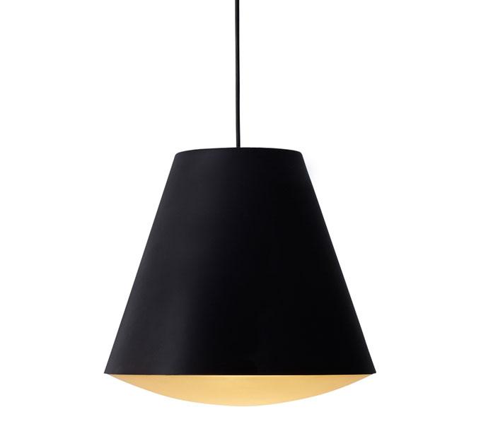 HAY Sinker hanglamp-Zwart-Large