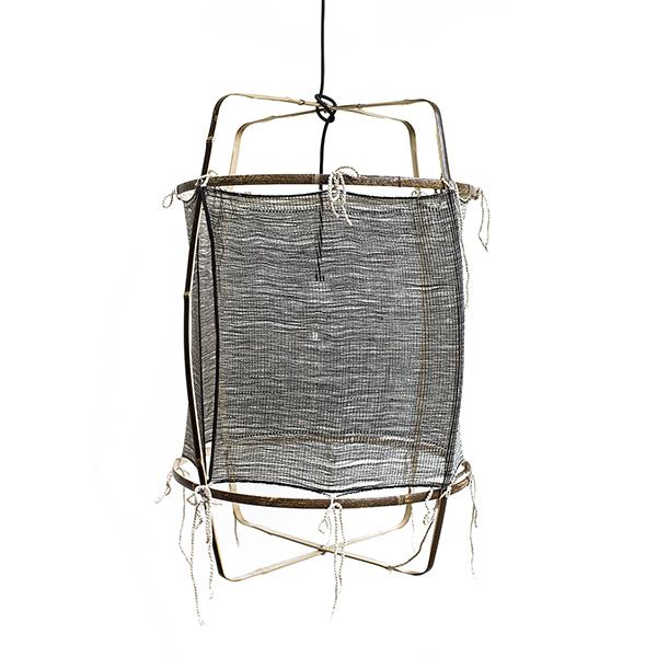 Ay illuminate Z11 Black Silk Cashmere hanglamp zwart