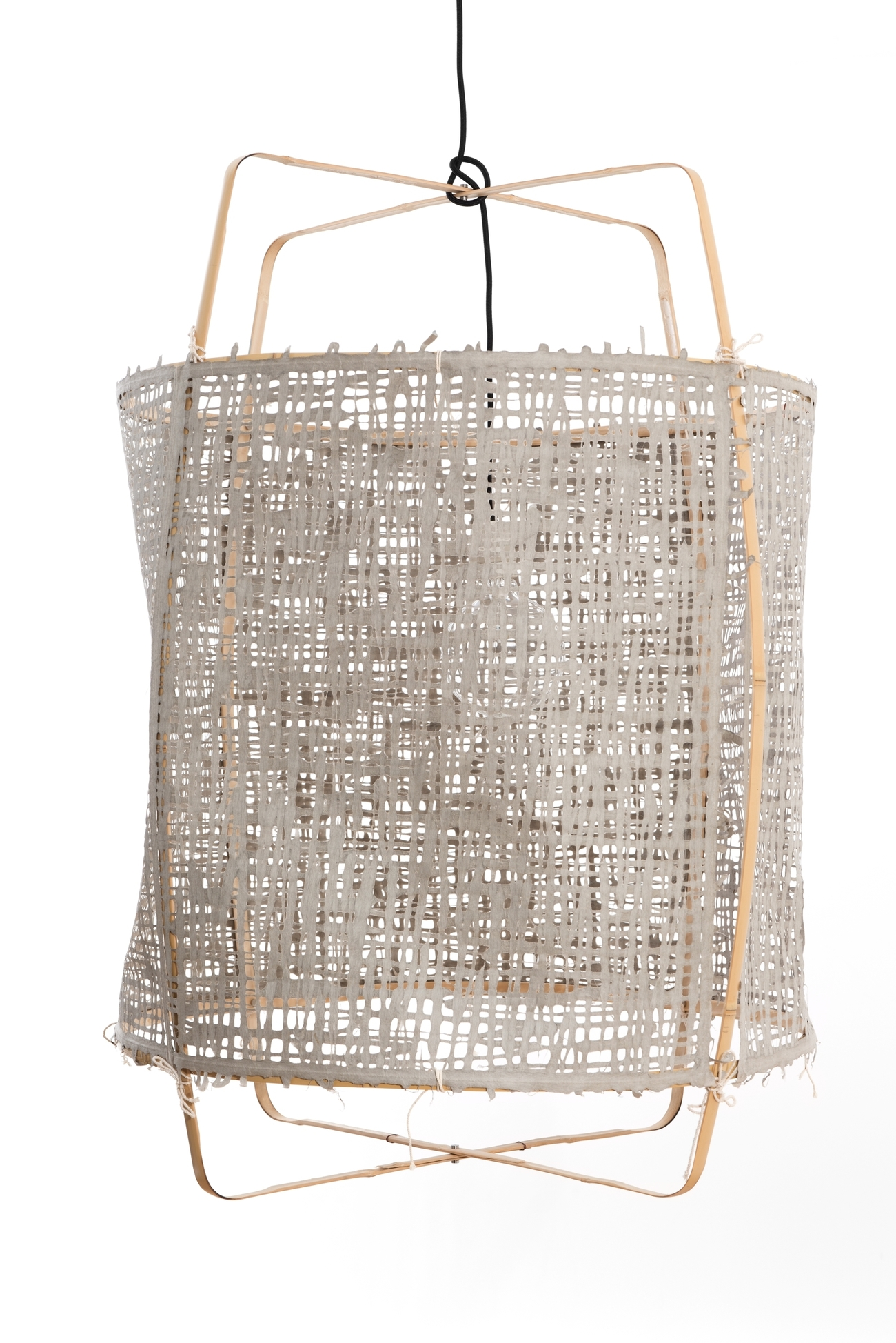 Ay illuminate Z2 Blonde Paper hanglamp grijs