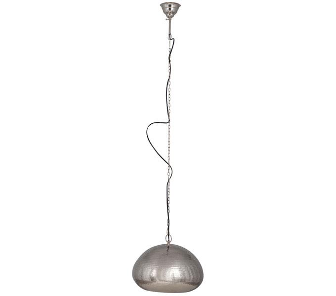Zuiver Hammered Oval hanglamp-Nikkel